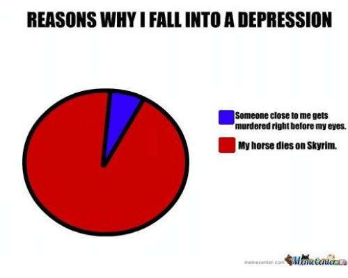 REASONS WHYIFALL INTO a DEPRESSION Someone Close to Me Gets