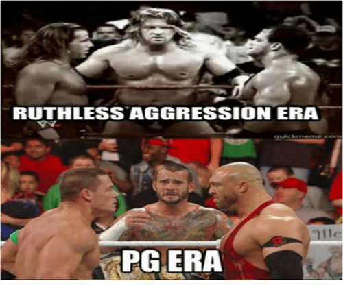 Wrestling, World Wrestling Entertainment, and Ruthless: RUTHLESS AGGRESSION ERA  quic krne m  g uic: krne in e.coen  711(  PG.ERA