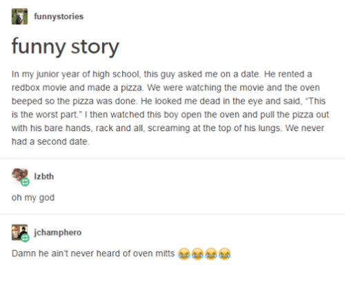 Funny stories to tell on a date
