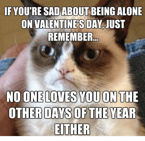 Alone On Valentines Day