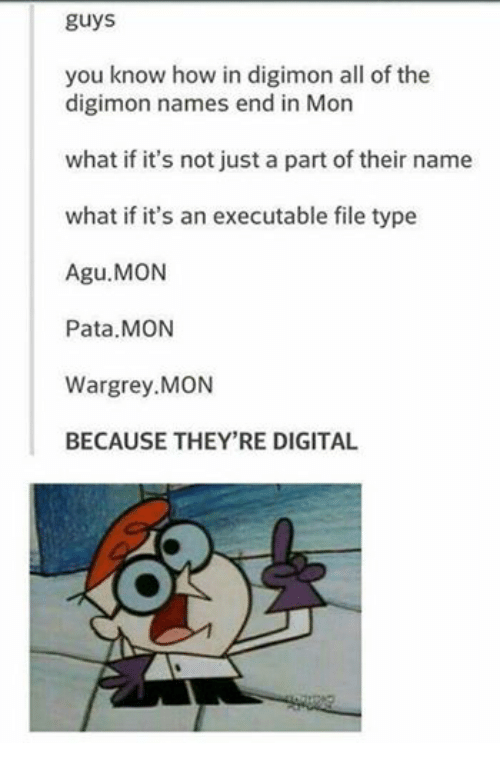 Digimon Names