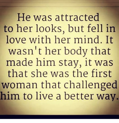 Love Memes For Her And Him: He Was Attracted To Her Looks But Fell In Love With Her