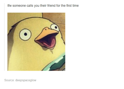That mean calls does friend a you guy when He'll Do