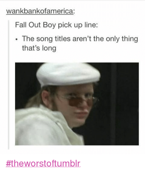 Fall pick up lines
