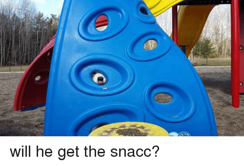 Dank Memes: will he get the snacc?