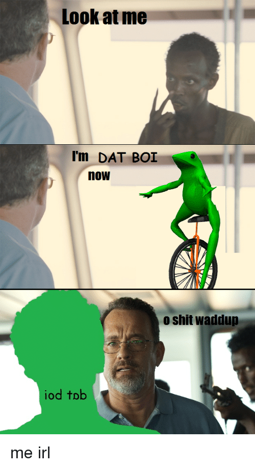 Dat Boi Coloring Page