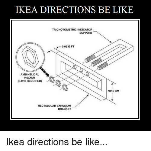 25 Best Memes About Ikea Directions Ikea Directions Memes