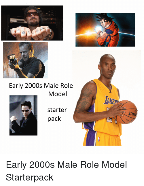 Imgur a727b0 early 2000s male role model starter pack early 2000s male role model