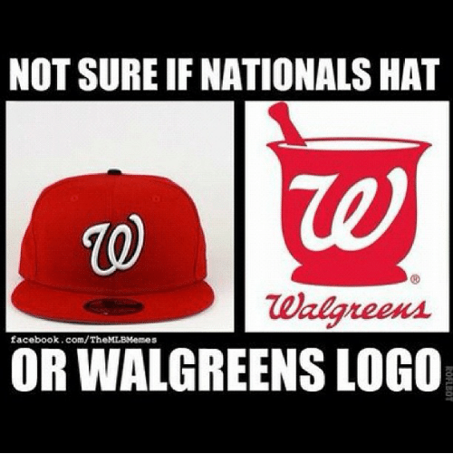 Facebook Mlb And NOT SURE IF NATIONALS HAT Walgreens