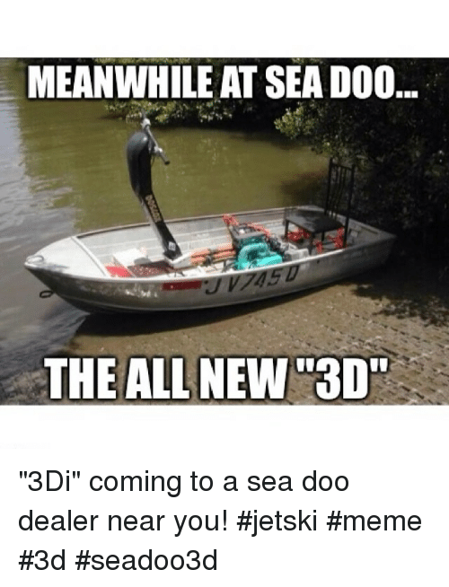 Instagram 3Di coming to a sea doo b07521 meanwhile at sea doo the all new 3d 3di coming to a sea doo dealer