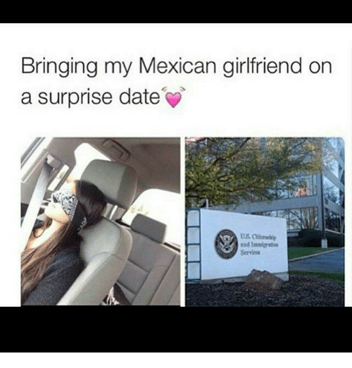 Girlfriend in mexican
