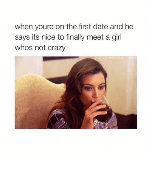 Dating first date