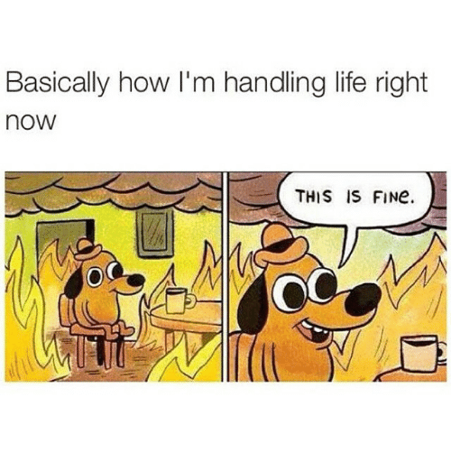 How Im Handling Life Right Now
