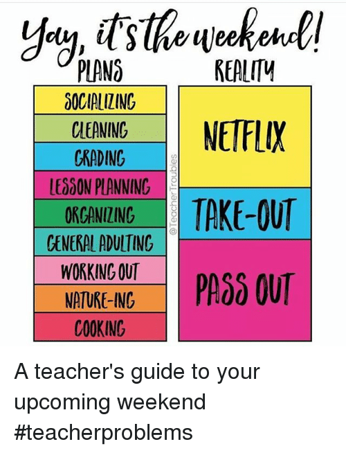 Instagram A teachers guide to your upcoming 86d6c6 realm plano 00cialiting cleaning netflix chading le000n planning s,Organizing Meme