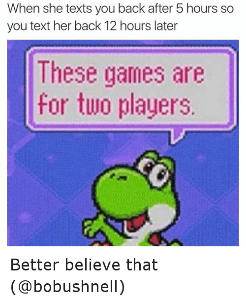 These Games Are For Two Players