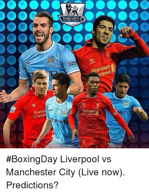 Stand Charter BARCLAYS Standard BoxingDay Liverpool vs ...