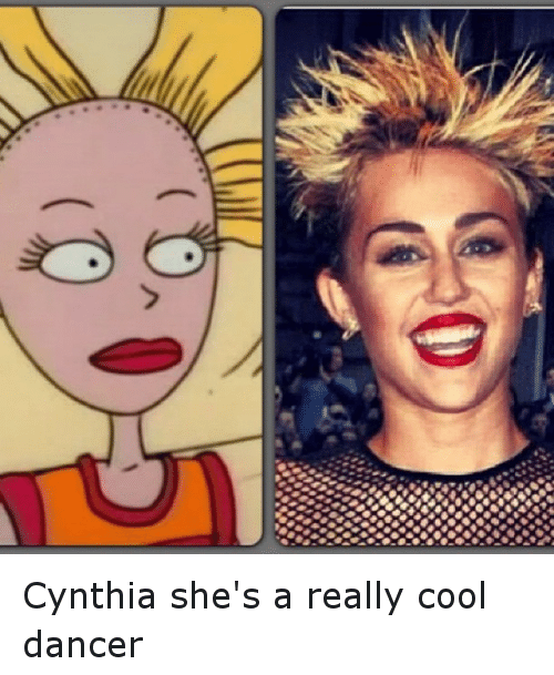 Funny, Cool, and Dancer: フ Cynthia she's a really cool dancer