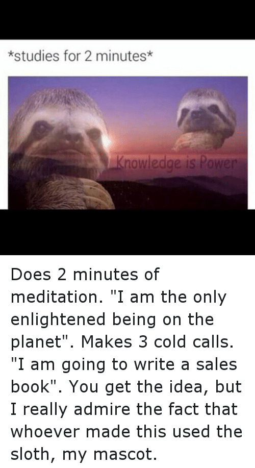 Studies For 2 Minutes Knowledge Is Power Does 2 Minutes Of