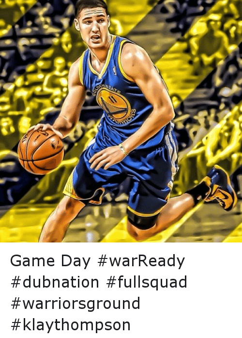 Te A Game Day Warready Dubnation Fullsquad Warriorsground