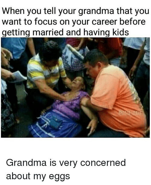 Instagram Grandma is very concerned about my 6cf956 devoted to your career memes mutually