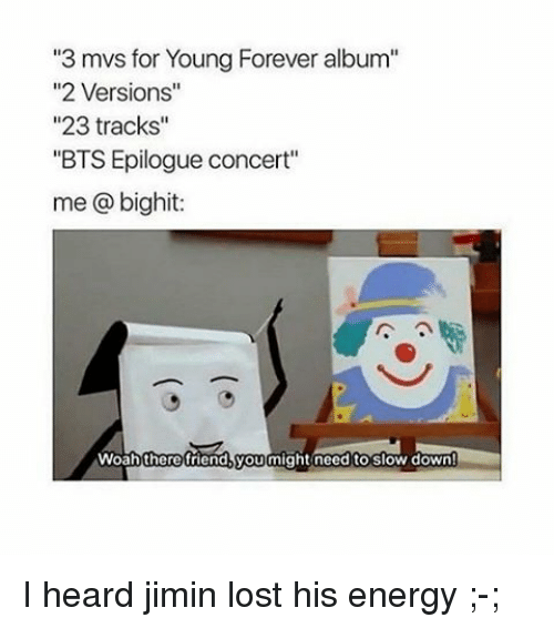 3 Mvs for Young Forever Album 2 Versions 23 Tracks BTS