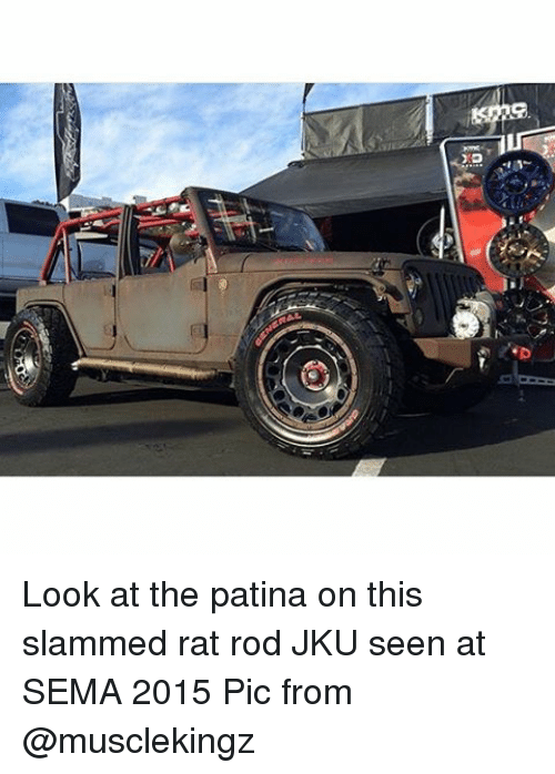 Jeep Rat Rod And Slammed Look At The Patina On This
