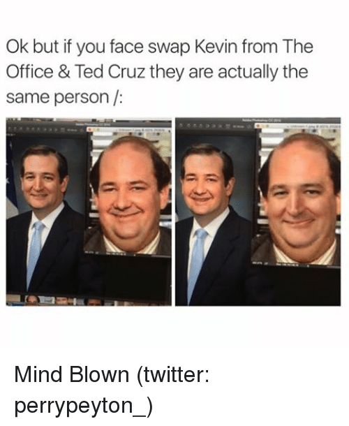 Kevin From The Office Ted Cruz