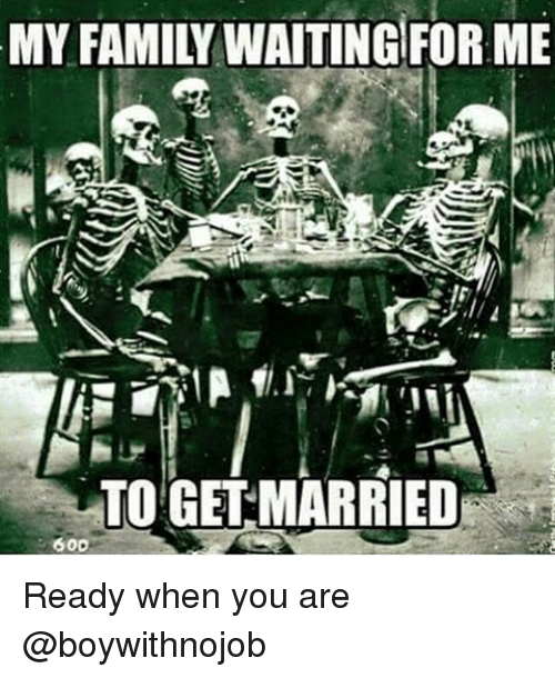 when are you ready to get married