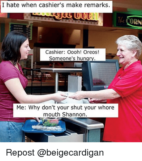 Shut Your Whore Mouth Shannon