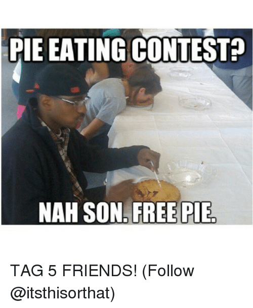 pie eating contest