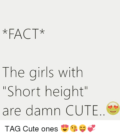 why are short girls cute