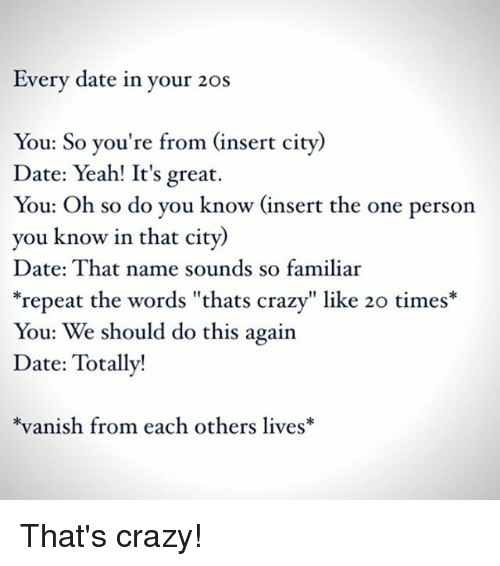 How to start dating in your 20s