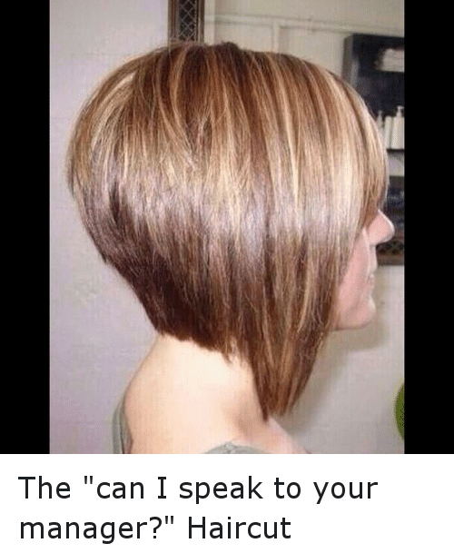 Hair Salons That Can Do The I Wanna Speak To Your Manager Haircut