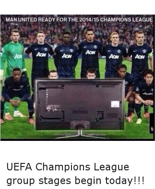 Manchester United Champions League Memes