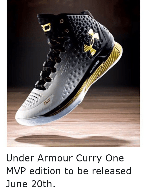 quality design 00c47 a2420 Basketball, Golden State Warriors, and Sports  Under Armour Curry One MVP  edition to