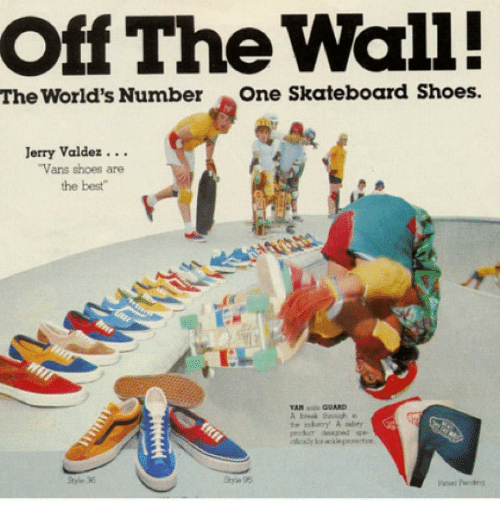 Instagram b8c7d3 off the wall! the world's number one skateboard shoes jerry valdez,Funny Off The Wall Memes
