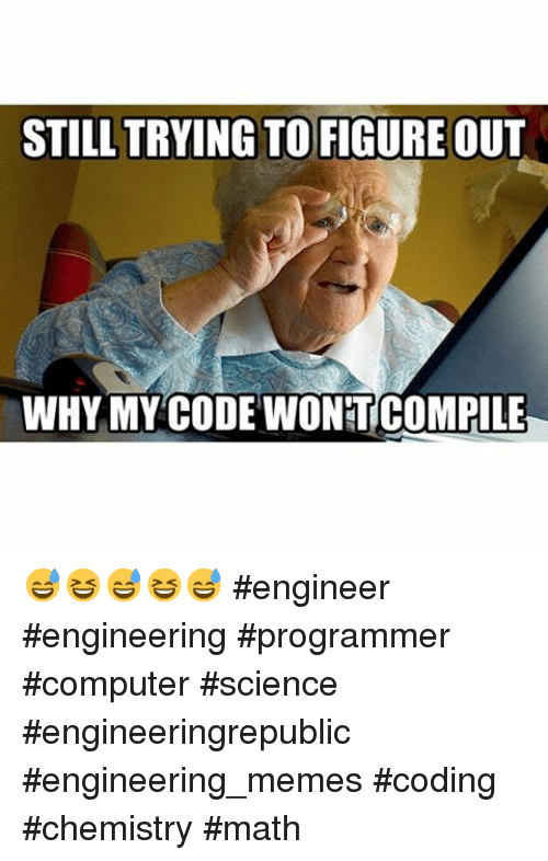 Instagram engineer engineering programmer computer science engineeringrepublic 08de60 still trying to figure out why my code wontcompile