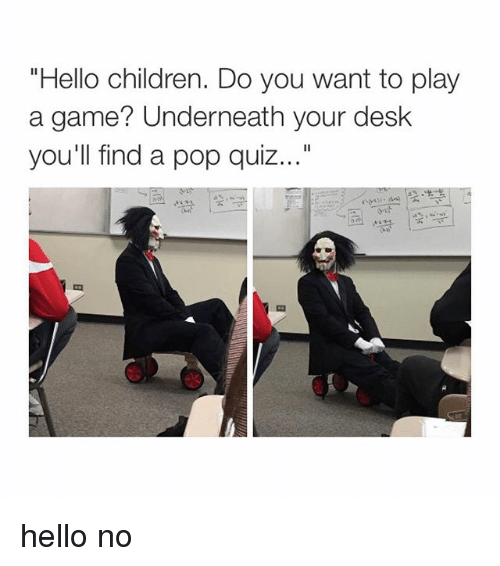 Want To Play A Game