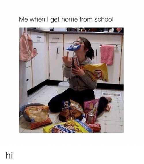 When I Get Home