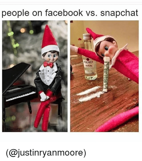 Funniest Meme Pages On Snapchat : People on facebook vs snapchat meme me