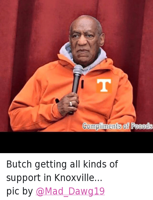 Twitter Butch getting all kinds of support 138340 ✅ 25 best memes about university of tennessee volunteers