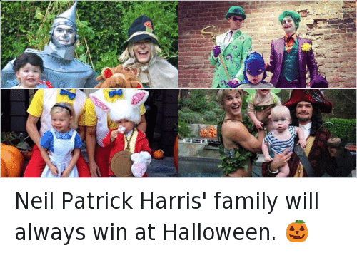 R Neil Patrick Harris' Family Will Always Win at Halloween ...