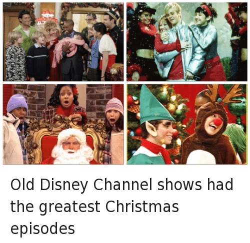 christmas disney and funny old disney channel shows had the greatest christmas episodes - Disney Channel Christmas