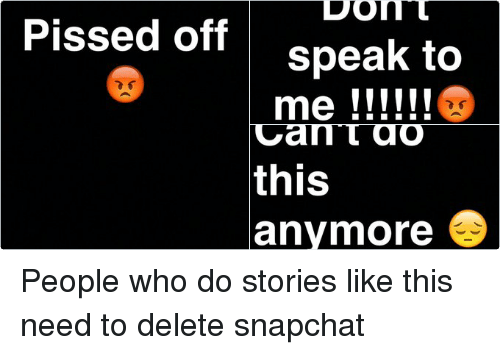 Twitter People who do stories like this 23031f pissed off people who do stories like this need to delete snapchat