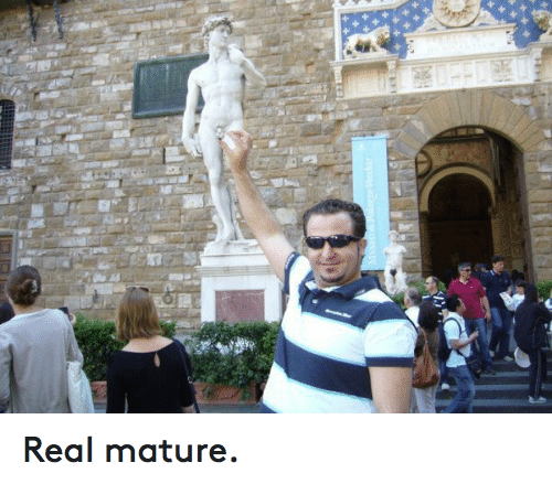 Funny mature photo real