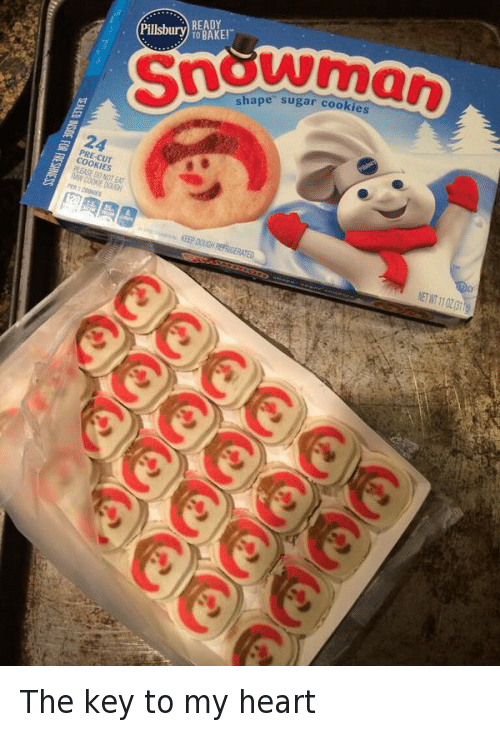 Baked Cookies And Funny Pillsbury Ready Bake Shape Sugar Cookies