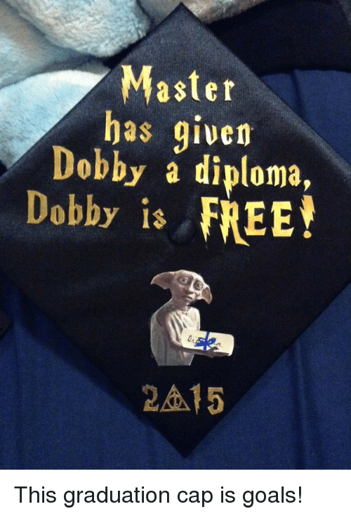 ✅ best memes about master has given dobby a diploma master  goals and goal master has given dobby a diploma debby is