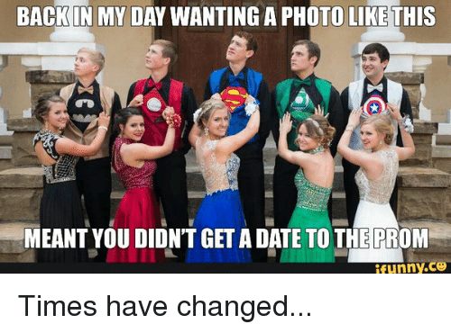 Dating back in the day