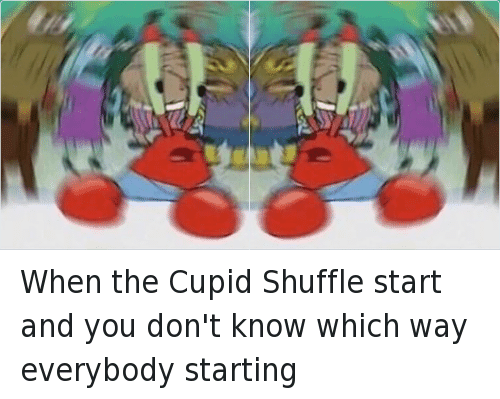 how to do the cupid shuffle dance