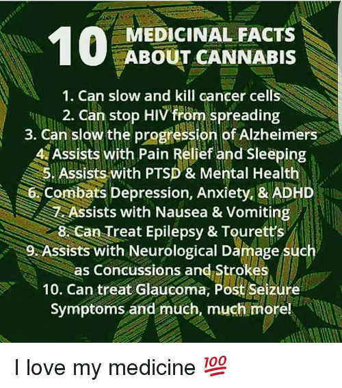 A A Medicinal Facts About Cannabis 1 Can Slow And Kill Cancer Cells